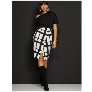 New York & Company Dolman-Sleeve Sheath Dress